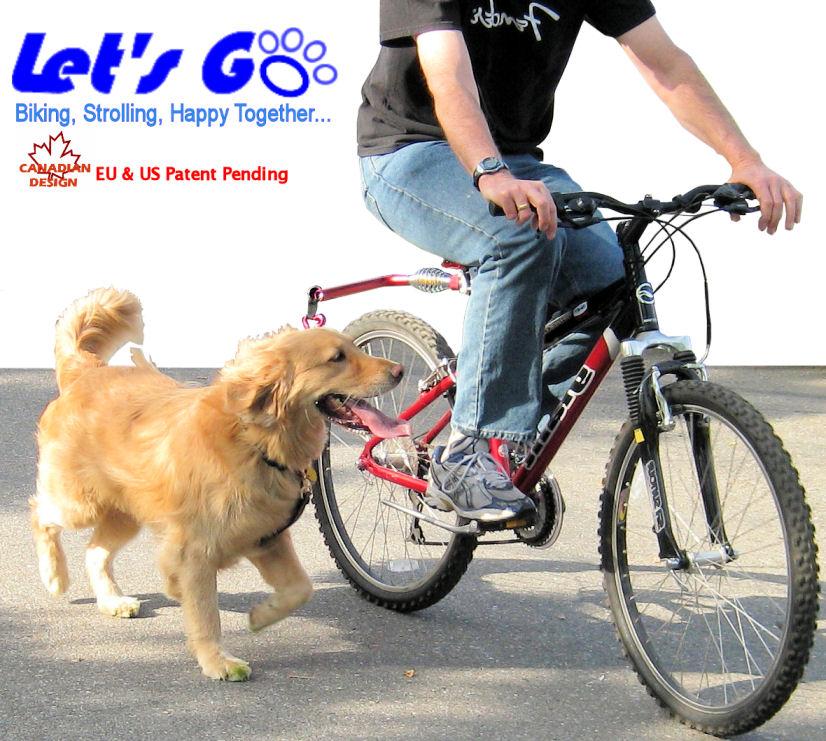 Let S Go Pet Walker Dog Bicycle Leash